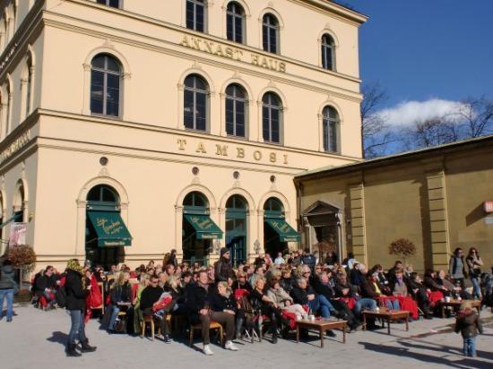Photo of Italian Restaurant Tambosi at Odeonsplatz 18, Munich 80539, Germany