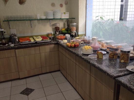Vila Azul: Café da manhã