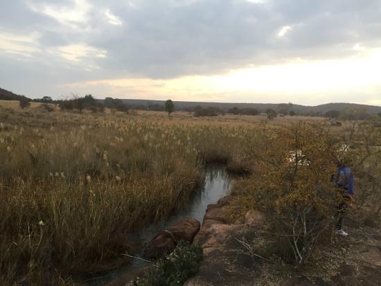 Lindani Lodges: River crossing Koperspruit trail