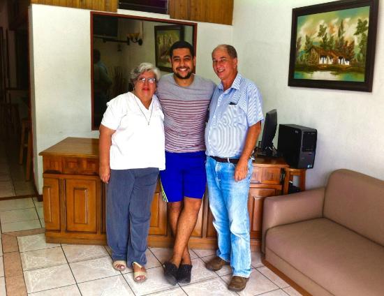 Hotel Casa Tago : Umberto and Constanza