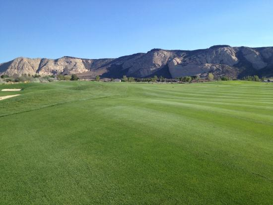 The Ledges Golf Club in St. George: Views are great on every hole