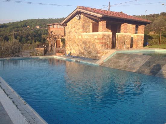 L 39 agriturismo tenuta la pieve hotel pergine valdarno - Piscina di pergine ...