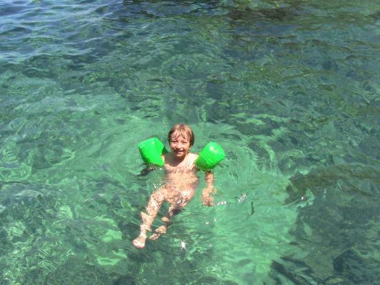 Camping Santa Maria di Leuca : Chiara si diverte!