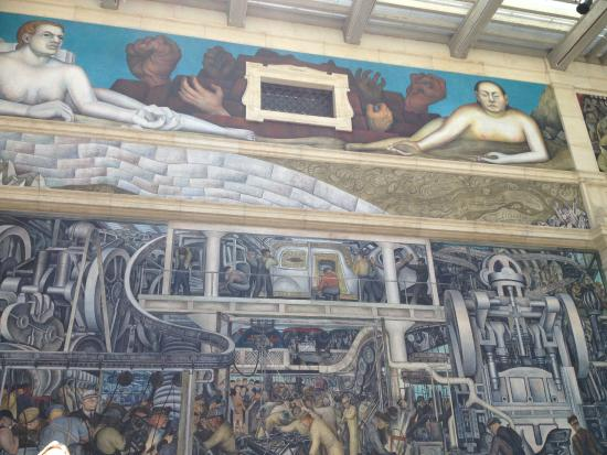 Diego rivera 39 s industry murals picture of detroit for Diego rivera mural detroit institute of arts