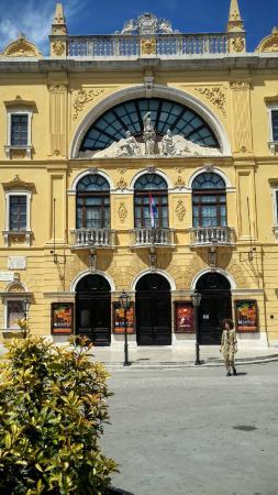 Croatian National Theater Split Croatia Updated 2017