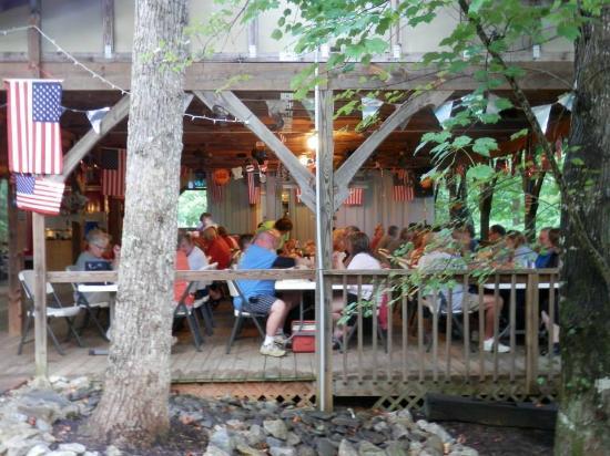 Four Paws Kingdom: Fourth of July BBQ dinner