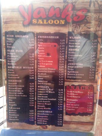 Zandvoort, The Netherlands: Yanks saloon