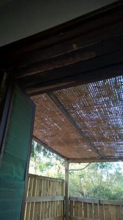 vu de la fenêtre de la chambre 33°