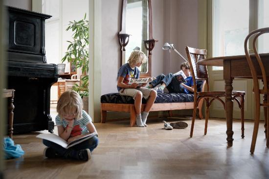 Kurhaus Berguen: Kinderbibliothek