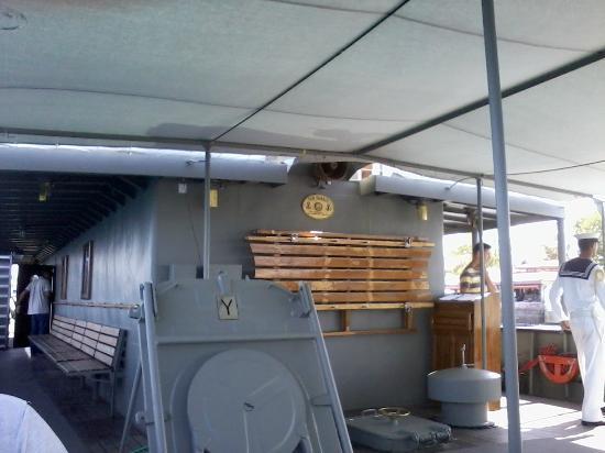 Sur le Navire - Picture of Canakkale Naval Museum ...