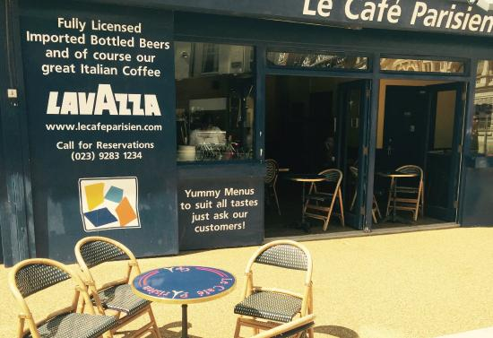 Le Cafe Parisien: Open Sided In Summer