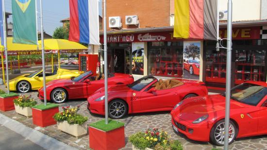 Fiorano Modenese, Italy: start'n go