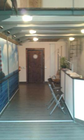 Residenza Pizzofalcone: reception