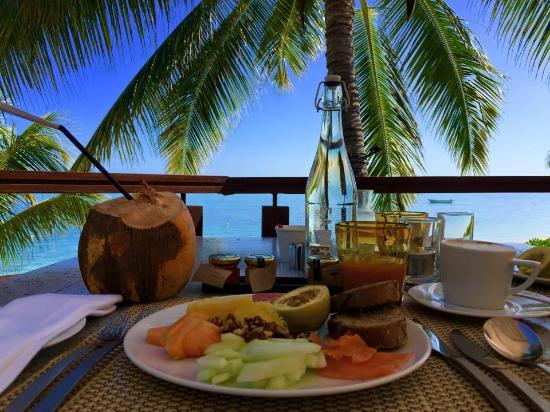 LUX* Le Morne: Frühstück mit Aussicht