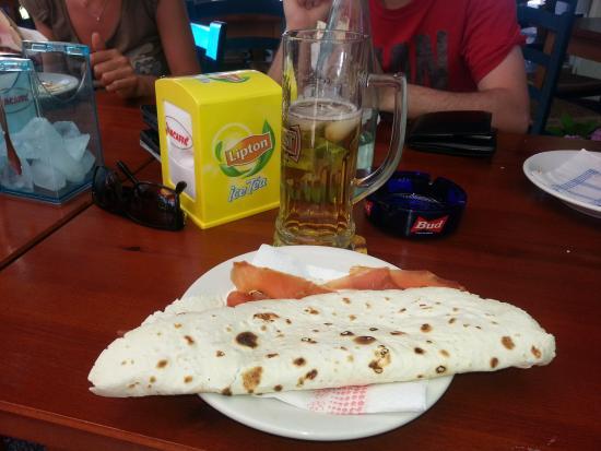 Piadina da Pio: Piada e birra