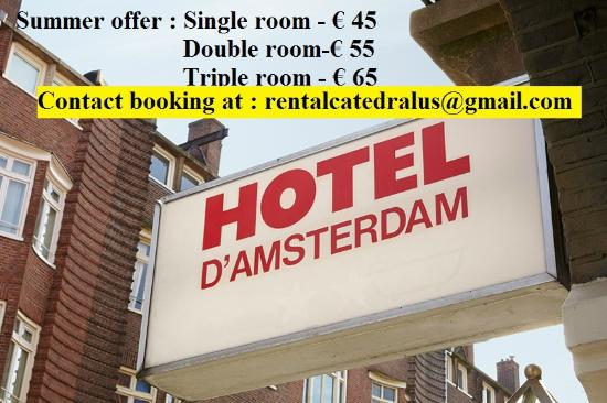 Hotel d'Amsterdam: 4 nights minimum stay