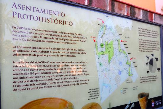 Plaza de África: Arceological site