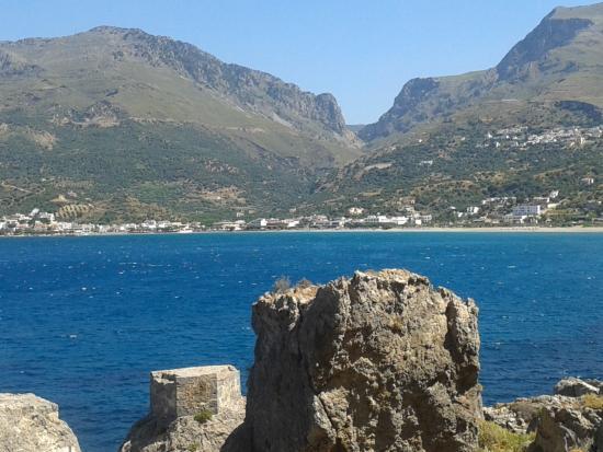 Creta Mare Hotel: Plakias bay