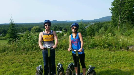 Milton, VT: Segway Tour Leland and Jessica