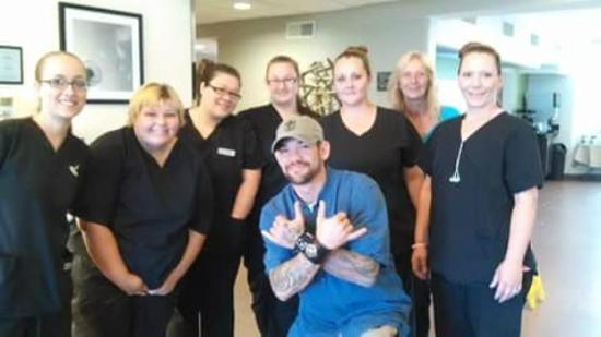 ‪‪Sleep Inn & Suites Lakeside‬: A visit from Leland Chapman, From T.V.s DOG THE BOUNTY HUNTER‬