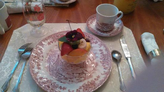 Cresson House Bed & Breakfast: PART OF OUR BEAUTIFUL BREAKFAST