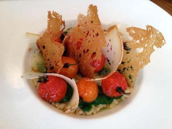 Willi's Wine Bar: Risotto arborio with grilled cherry tomatoes, which was simply delicious