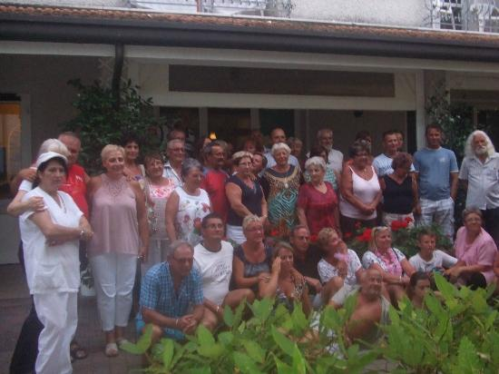 Hotel Villa Celeste: Cała nasza grupa