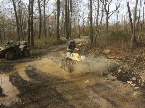 The Lost Trails ATV Adventures: Fun in the Mud!