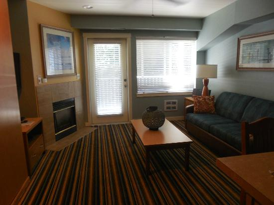 Worldmark Birch Bay: Living room