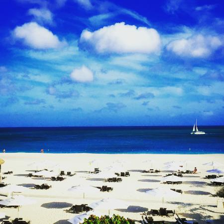 Bucuti & Tara Beach Resort Aruba: View from our room
