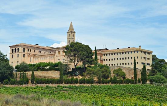 Vista general del monasterio - Picture of Monestir de les Avellanes, Os de Balaguer - Tripadvisor