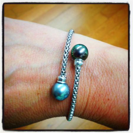SAB Pearls : My 25th anniversary gift.