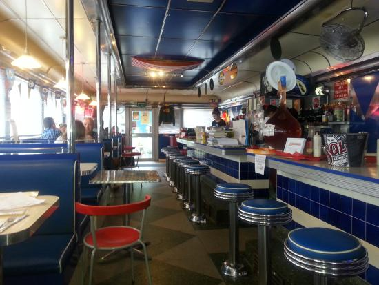 Exterior of the 50's American Diner - Picture of 50's ...  Exterior of the...