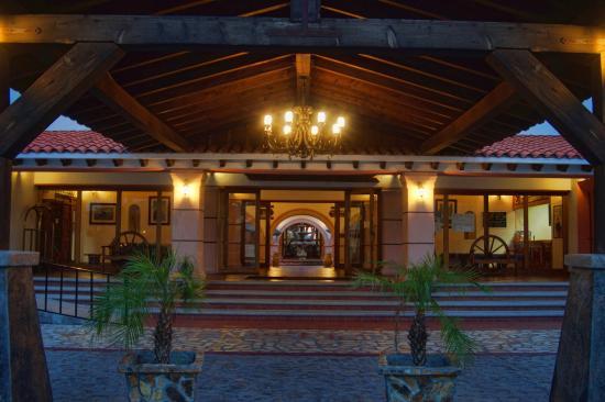 Hotel Mision Catavina: entrada principal