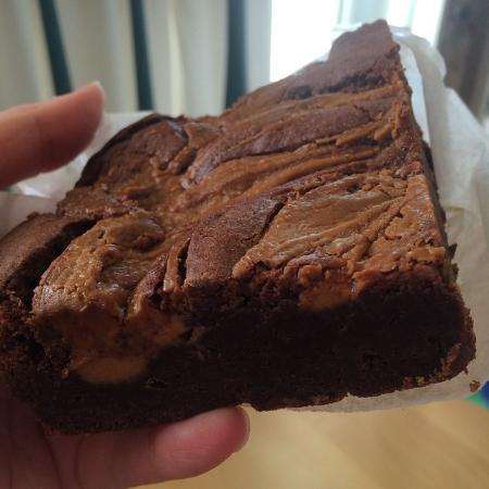 Savory and the Sweet Escape: Peanut Butter Brownie