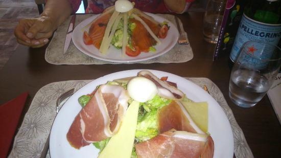 O Bougnat : salades délicieuses