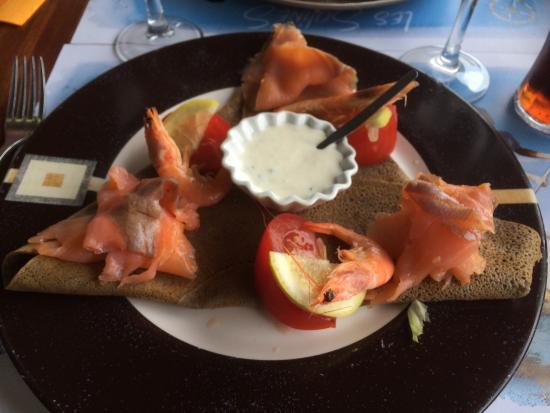 La Caravelle: Galette saumon