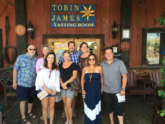 Wine Wrangler - Day Tours : Our tour group