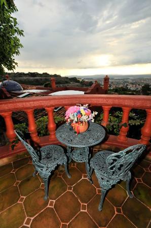 Casa Puesta Del Sol: Vista desde el Balcon