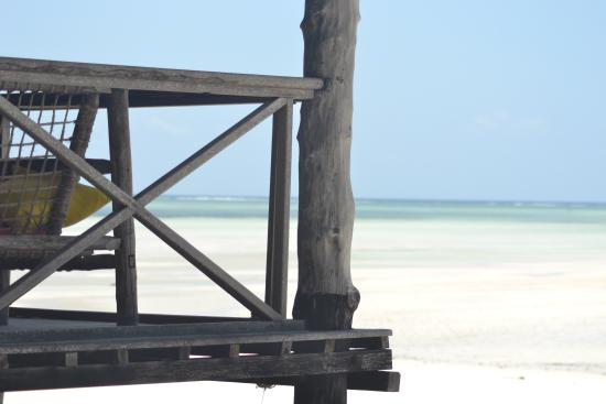 Ndame Beach Lodge Zanzibar: Blick aufs Meer