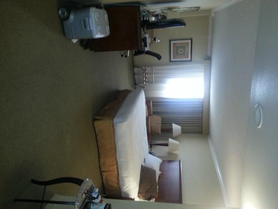 Ontario Airport Hotel and Conference Center: Room view
