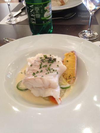 Bizanet, France : Beautiful cod dish