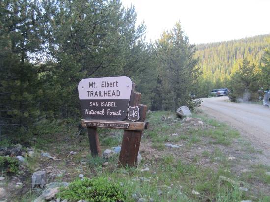 Mount Elbert: mt elbert trailhead