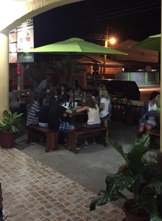 Nicoya, Costa Rica: Pizza X Metro