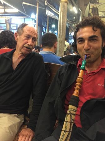 Shisha picture of my local guide istanbul istanbul tripadvisor