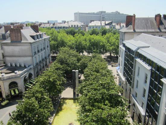 Ibis Styles Nantes Centre Place Royale: Vue du 7ème étage