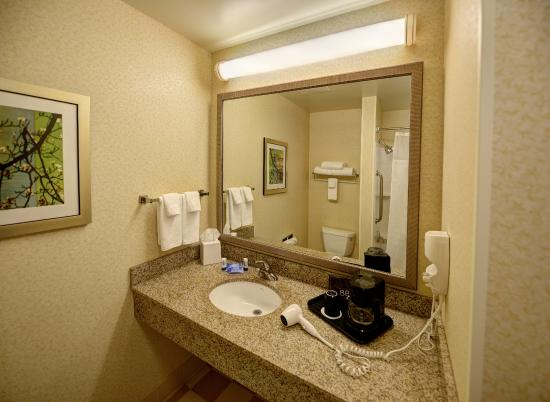 Fairfield Inn & Suites Wausau : Guest Bathroom