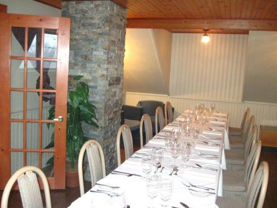 Auberge Le Madrigal: Salon privé pour repas en famille
