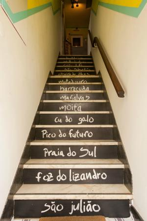 Ericeira Surf Camp & Hostel: stairs