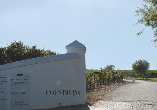 Goedemoed Country Inn : Ingresso